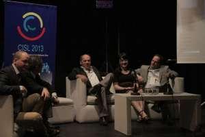 foto de los participantes del panel de apertura de la CISL 2013