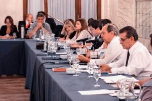 Foto del panel del Workshop del CeATS